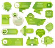Insegna moderna di opzioni di infographics. Illustrazione di vettore. può essere usato per la disposizione di flusso di lavoro, il Fotografia Stock Libera da Diritti
