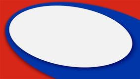 Insegna orizzontale, fondo di calcio o tazza 2018 di campionato del mondo di calcio Illustrazione di vettore 3D per gli avvenimen Immagine Stock