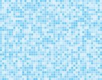 Insegna quadrata blu-chiaro del fondo delle tessere Fotografia Stock Libera da Diritti