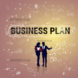 Insegna Startup di sviluppo di Team Business Plan Strategy Concept del gruppo delle persone di affari Fotografia Stock Libera da Diritti