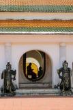 Insegnamento del monaco dell'ombra Immagine Stock