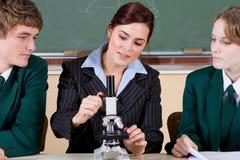 Insegnamento dell'insegnante Immagini Stock