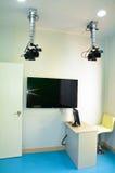 Insegnamento di simulazione di scena, Microteaching Fotografia Stock Libera da Diritti