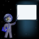 Insegnamento globale Fotografie Stock