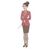 insegnante illustrazione di stock