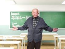 Insegnante al banco Fotografia Stock