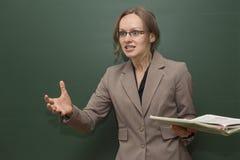 Insegnante arrabbiato Immagini Stock Libere da Diritti