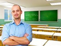 Insegnante caucasico Immagini Stock