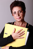 Insegnante della donna Immagini Stock