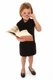 Insegnante di allievo Immagini Stock