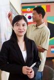 Insegnante di lingue cinese Immagine Stock Libera da Diritti
