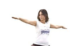 Insegnante di yoga Fotografie Stock