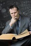 Insegnante dopo le ore Immagini Stock