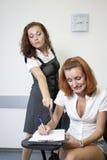 Insegnante ed allievo Fotografia Stock Libera da Diritti