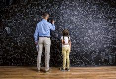 Insegnante ed allievo Fotografia Stock