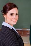 Insegnante femminile Fotografia Stock