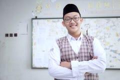 Insegnante musulmano Fotografia Stock