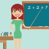 Insegnante nell'aula. Fotografie Stock Libere da Diritti