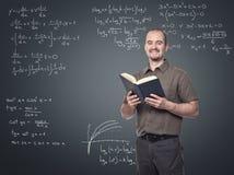 Insegnante per la matematica Immagini Stock