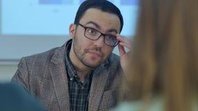 Insegnante privato con codice categoria degli allievi Fotografie Stock