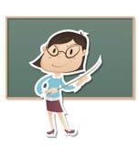 Insegnante rigoroso Immagini Stock