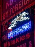 Insegne al neon al vicolo al neon, pueblo, CO immagini stock
