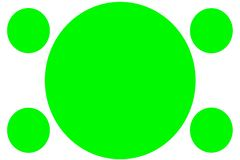 Insegne colorate circolari - cerchi verdi Pu? essere usato per scopo dell'illustrazione, il fondo, il sito Web, i commerci, le pr illustrazione vettoriale
