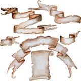 Insegne dei Caraibi dell'acquerello Immagine Stock Libera da Diritti