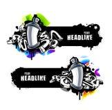 Insegne dei graffiti royalty illustrazione gratis