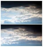 Insegne del cielo Fotografia Stock Libera da Diritti