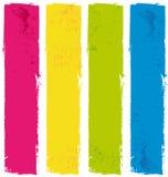 Insegne della pittura di colore royalty illustrazione gratis