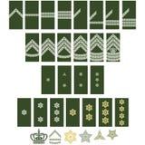 Insegne delle forze armate di Denmark-1 illustrazione vettoriale