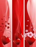 Insegne di giorno di S. Valentino Immagini Stock