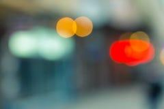 Insegne di notte degli elementi Fotografia Stock Libera da Diritti