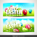 Insegne di Pasqua Fotografia Stock