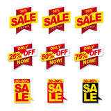 Insegne di vendita Immagine Stock Libera da Diritti