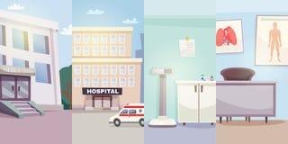 Insegne di verticale della medicina illustrazione vettoriale