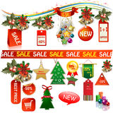 Insegne ed etichette di vendita di affari Immagini Stock Libere da Diritti