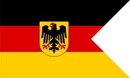 Insegne navali della Germania Fotografia Stock Libera da Diritti