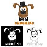Insegua governare Insegua il logo di servizio per i saloni ed i parrucchieri dell'animale domestico royalty illustrazione gratis