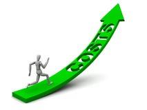 Inseguimento dei costi Immagini Stock