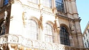 Inseguimento del palazzo sparato Vienna archivi video