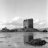 Inseguitore del castello Fotografia Stock