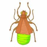 Insekt pluskwy ikona, kreskówka styl royalty ilustracja