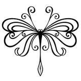 Insekta dragonfly Zdjęcie Royalty Free