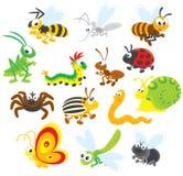 Insekten stock abbildung