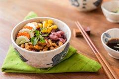 Insekten-und Reis-Beere stockfotos