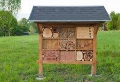 Insekthotel Stockbild
