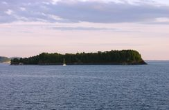 Insel Stockfoto