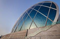 Insel Abu Dhabi Aldar Hauptquartiers Yas Stockfotos